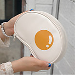 Cute Cartoon Fried Eggs Poached Egg  Makeup Bag Hand Bag Bag Woman Bag