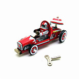 The Car Wind-up Toy Leisure HobbyMetal Red / Blue For Kids