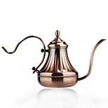 Stainless Steel Coffee Pot European Hand Blunt Court Pot