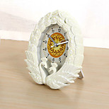 (Random color)Restore ancient ways the swan kissing the alarm clock  bedroom clock