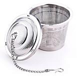 304 Stainless Steel Practical Tea Ball Strainer Mesh Infuser Filter  Herbal
