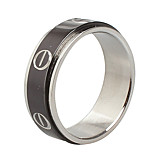 Unisex Titanium Steel Ring Double-layer Simple Party / Daily / Casual 1pc Statement Rings