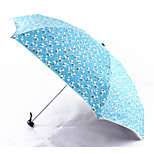 Small Suihua Black Plastic Uv Sunscreen Half Off Mini Umbrella Umbrella