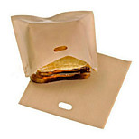 1Pcs Reusable Toaster Bags for Grilled Cheese Sandwiches Kitchen Cooking Non Stick Microwave Tools Heating Food Bags