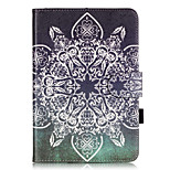 PU Leather Material Full Flower Embossed  Pattern Tablet Sleeve for iPad mini 1 / 2 / 3