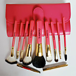 10Pcs Makeup Brush High-Grade Wool Hardcover Gift Box Makeup Kit