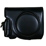 G9X 油皮相机包 Camera Case For Canon G9X Camera Camera(Black/Brown/Coffee)