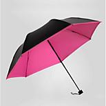 Korean Version Of The Wave Point Black Vinyl Umbrellas Umbrella Folding Umbrella Uv Clear