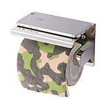 New Anti-rust Stainless steel 304 Bathroom Paper Phone Holder With Shelf