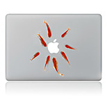 Goldfish Decorative Skin Sticker for MacBook Air/Pro/Pro with Retina