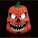 Festive Supplies Halloween Masquerade Bar Supplies Voice-Activated Sensor Ghost Pumpkins 434G