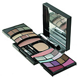 Magic Eye Shadow Palette Lip Concealer Powder Blush