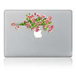 Pink Flower  Decorative Skin Sticker for MacBook Air/Pro/Pro with Retina