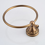 Antique Brass Bathroom Accessories Brass Material Towel Rings