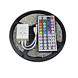 zdm® 5m 150x5050 SMD RGB LED strip licht IP20 met 44Key afstandsbediening (12V)