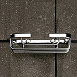 Soap Dish / Chrome / Wall Mounted /13*10*3cm /Stainless Steel /Contemporary /13cm 10cm 0.44