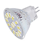 4.0 GU4(MR11) Focos LED MR11 15 SMD 5733 350 lm Blanco Cálido / Blanco Fresco Decorativa 09.30 V 1 pieza