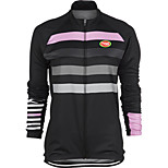 Sports Cycling Tops Women's Bike Breathable /  3D Pad / Ultra Light Fabric / Compression Long SleeveLYCRA® /