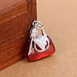 Women's Rose Sterling Silver Pendant 1PC