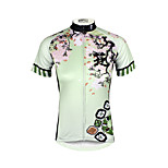 PALADIN® Cycling Jersey Women's Short Sleeve BikeBreathable / Quick Dry / Ultraviolet Resistant / Compression / Lightweight Materials /
