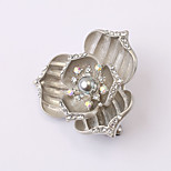 European and American fashion zircon Pearl Brooch Series 021
