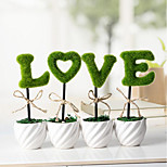 Zakka Simulation Potted Plants Mini