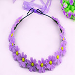 The New Attractions Garland Of Roses Simulation Colorful Hair Accessories Bridal Headdress Travel Pictures