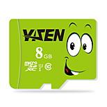 YISEN  8GB UHS-I U1 / Class 10 MicroSD/MicroSDHC/MicroSDXC/TFMax Read Speed80 (MB/S)