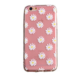 Air Cushion Shell Matte TPU Three-Dimensional Relief Chrysanthemum Phone Case for iPhone6/6s/6 Plus/6S Plus