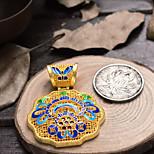 Women's Golden Gold Plated Pendant 1PC