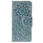 Mandala Pattern PU Leather Full Body Case with Stand and Card Slot for iPhone 6s Plus/6 Plus/6s/6