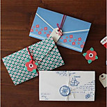 Mini Retro Greeting Card Stationery Envelopes Letter Festival Greeting Cards