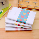 5035 Korean Version Of The Simple Rhyme 64 Pouches Open This Little Fresh Notepad Notebook Small