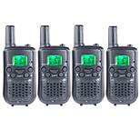 T899462C2P Walkie Talkie 0.5W 22 Channels 400-470MHz AAA alkaline battery 3 km -5kmVOX / Rücklicht / Verschlüsselung /