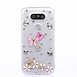 DIY Butterfly Pattern PC Hard Case for Multiple LG G3 G4 G5 G5SE V10 K10 K7 K4