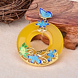 Women's Yellow Copper Pendant 1PC