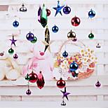 Christmas Decorations Christmas Ball Ornaments Pentagram Lob Hotel Window 96