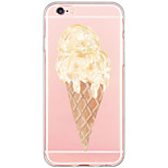 Pattern Cartoon Ice Cream PC Case Back Cover Foundas Capa For Apple iPhone 6s Plus/6 Plus/iPhone 6s/6/iPhone 5/5s/SE