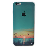 Sunset Pond Pattern Material TPU Phone Case For iPhone 6s/6/6s Plus/6 Plus