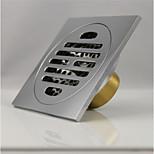 Dorlink® Wasp Contemporary Polished Brass Floor Drain for Bathroom