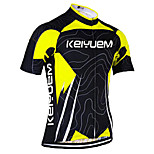 KEIYUEM Cycling Jersey/ Tops Unisex Short Sleeve/ Breathable / Quick Dry / Rain-Proof /Waterproof Zipper#K178