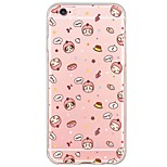Cartoon Pattern TPU Ultra-thin Translucent Soft Back Cover for Apple iPhone 6s Plus/6 Plus/ 6s/6/ SE/5s/5
