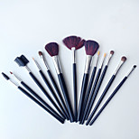 New 13Pcs Black Professional Makeup Suits