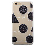 Geometric Pattern TPU Matte Phone Case Soft Case for iPhone 6/6S/6Plus/6SPlus