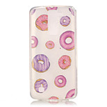 TPU + IMD Material Donuts Pattern Painted Relief Phone Case for LG K10/K8/K7/K4