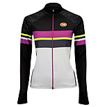 Sports Cycling Tops Women's Bike Wearable / Ultra Light Fabric Long Sleeve LYCRA® / Terylene / CoolmaxClassic