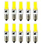 10PCS G9/E14 COB 1LED 540LM 6W Warm White / Cool White   Decorative AC 220V LED Bi-pin Lights