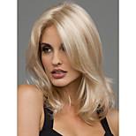 Sexy Blonde Medium Length Heat Resistant Full Hair Wig