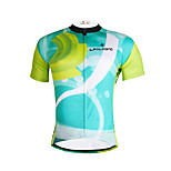 The Existing Paladin Summer Male Short Sleeve Cycling Jerseys 100% Polyester DX648 Operation
