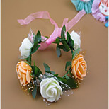 Korean Hair Accessories Bridal Photo Wreath Tiara Ring Bracelet Boho